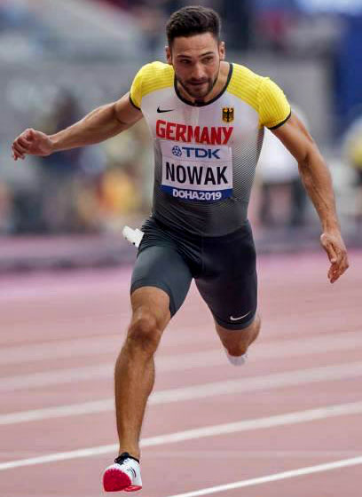 Leichtathletik: Das J-Team interviewt Tim Nowak