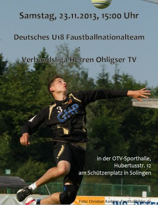 2013_U18Nationalteam_Plakat
