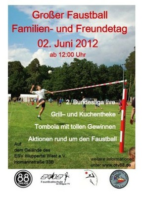 Faustball Familien und Freundetag 2012