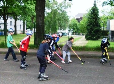 Auftaktmatch Hockey