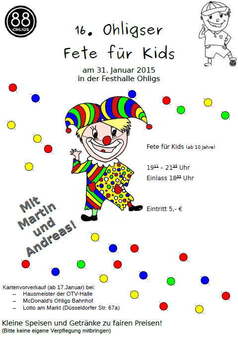 2015 OTV Party fuer Kids